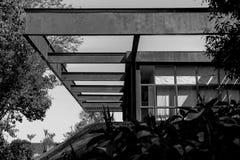 Vecchia architettura in bianco e nero Fotografie Stock Libere da Diritti