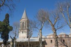 Vecchia architettura a Costantinopoli Fotografia Stock