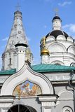 Vecchia architettura del parco di Kolomenskoye Cattedrale di ascensione fotografia stock