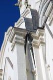 Vecchia architettura del parco di Kolomenskoye Chiesa di ascensione immagine stock
