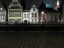 Vecchia architettura dell'Europa (Gent Belgio) Fotografia Stock Libera da Diritti