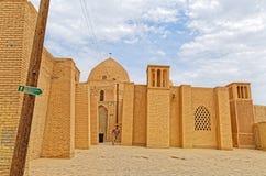 Vecchia architettura della moschea di Nain Immagine Stock
