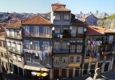 Vecchia architettura di Oporto Fotografia Stock