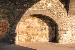 Vecchia architettura di pietra, Marocco Fotografie Stock