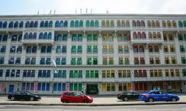 Vecchia architettura a Singapore Immagini Stock Libere da Diritti