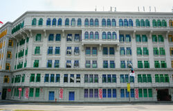 Vecchia architettura a Singapore Immagine Stock