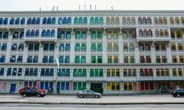 Vecchia architettura a Singapore Immagini Stock