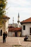 Vecchia area del bazar, Skopje, Macedonia Immagine Stock Libera da Diritti