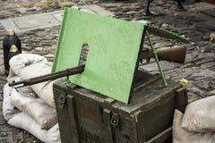 Vecchia arma della guerra Fotografie Stock