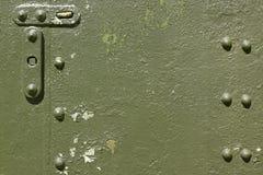 Vecchia armatura militare dello strato Fotografie Stock Libere da Diritti