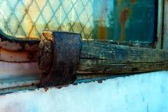 Vecchia ascia di spezzettamento Fotografie Stock Libere da Diritti