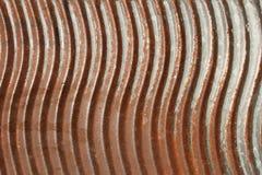 Vecchia asse per lavare arrugginita del metallo fotografie stock libere da diritti