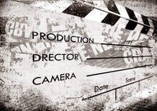 Vecchia assicella della pellicola Immagini Stock Libere da Diritti