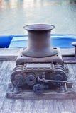 Vecchia attrezzatura portuale antica Fotografie Stock