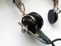 Vecchia audio attrezzatura autentica Fotografia Stock Libera da Diritti