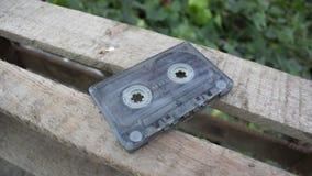 Vecchia audio cassetta per il registratore Fotografia Stock