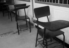 Vecchia aula Fotografia Stock Libera da Diritti