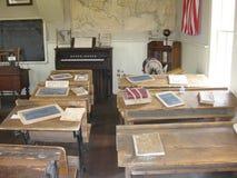 Vecchia aula scolastica Immagini Stock