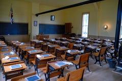 Vecchia aula scolastica Fotografia Stock