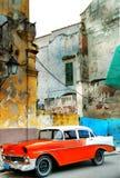 Vecchia automobile americana Fotografie Stock