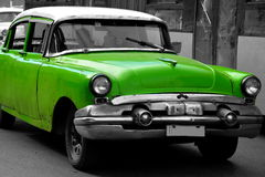 Vecchia automobile americana a Avana, Cuba Immagini Stock