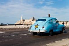Vecchia automobile americana classica a Avana Fotografia Stock Libera da Diritti