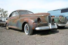 Vecchia automobile americana a partire dagli anni 40 Fotografie Stock Libere da Diritti