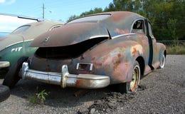 Vecchia automobile americana a partire dagli anni 40 Fotografie Stock