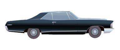 Vecchia automobile americana Vettore Fotografia Stock Libera da Diritti