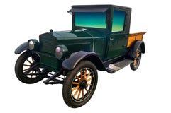 Vecchia automobile automatica di riksha Fotografia Stock