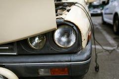 Vecchia automobile comunista rumena Fotografia Stock Libera da Diritti