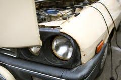 Vecchia automobile comunista rumena Fotografie Stock Libere da Diritti