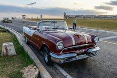 Vecchia automobile cubana immagini stock libere da diritti