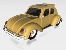 vecchia automobile 3d Immagine Stock Libera da Diritti