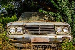 Vecchia automobile d'annata Immagine Stock Libera da Diritti