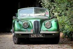 Vecchia automobile d'annata del giaguaro Fotografia Stock Libera da Diritti