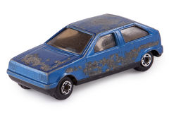 Vecchia automobile del giocattolo Immagini Stock