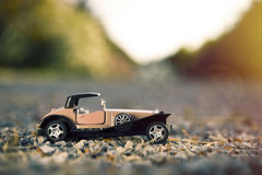 vecchia automobile del giocattolo di 1900s Fotografia Stock