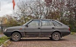 Vecchia automobile del polacco del classico Immagini Stock Libere da Diritti