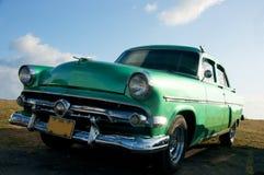 Vecchia automobile del temporizzatore Immagini Stock Libere da Diritti