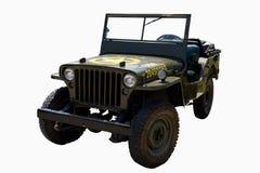 Vecchia automobile dell'esercito immagini stock libere da diritti