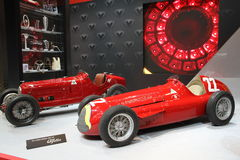 Vecchia automobile di Alfa Romeo fotografia stock