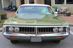 Vecchia automobile di Chrysler Fotografia Stock Libera da Diritti
