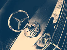 Vecchia automobile di Mercedes-Benz Fotografia Stock Libera da Diritti