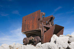 Vecchia automobile di Mucker del minerale metallifero Fotografia Stock
