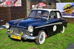 Vecchia automobile francese classica Fotografie Stock Libere da Diritti
