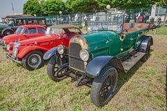 Vecchia automobile italiana Fiat 501 (1924) Immagini Stock