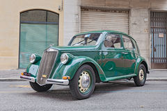 Vecchia automobile italiana Lancia Ardea (1951) Fotografie Stock
