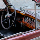 Vecchia automobile Jaguar Immagini Stock