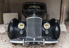 Vecchia automobile nera del lusso di Bentley Mark VI Fotografie Stock Libere da Diritti